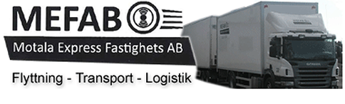Mefab –  Flyttning – Transport – Logistik